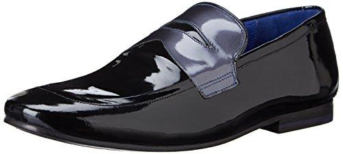 Ted Baker Men'S Graaem Tuxedo Loafer,Black Patent,9 M Us