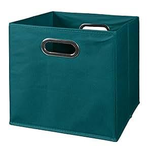 Amazon.com: Niche Cubo Foldable Fabric Storage Bins, Teal