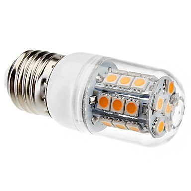 How Nice 3W 27X 5050Smd 200Lm 110V Warm White Light Led Corn Bulb E27