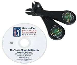 Amazon.com : GreenFix Wizard Golf Ball Mark Repair Tool
