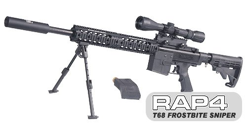 T68 Frostbite Sniper Paintball Gun