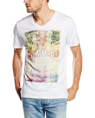 PAUL STRAGAS Camiseta Manga Corta Blanco
