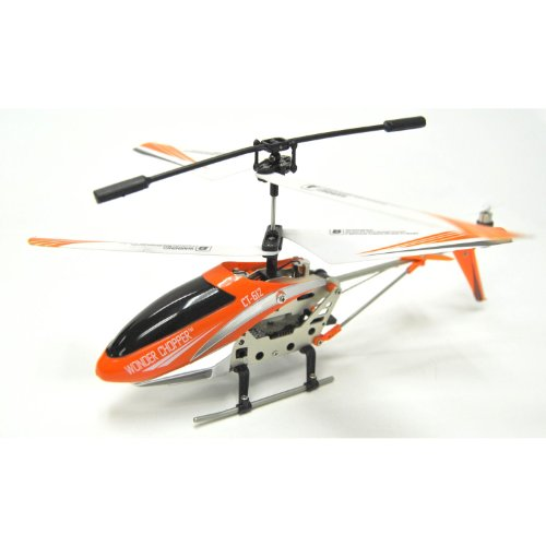 RC Helicopter: Atomic Thunder w/ Remote Control & Replacement Parts with Mini Tool Box (fs)