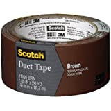 Scotch Durable Duct Tape, Brown, 1.88-Inch by 20-Yard