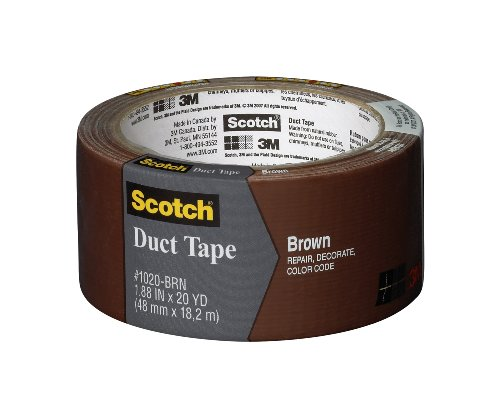 Scotch Durable Duct Tape, Brown, 1.88-Inch by 20-Yard picture