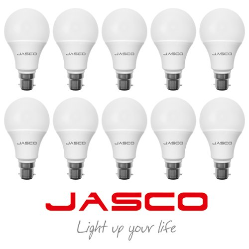 Jasco 5W B22 LED Bulb (Cool Day Light, Pack Of 10)