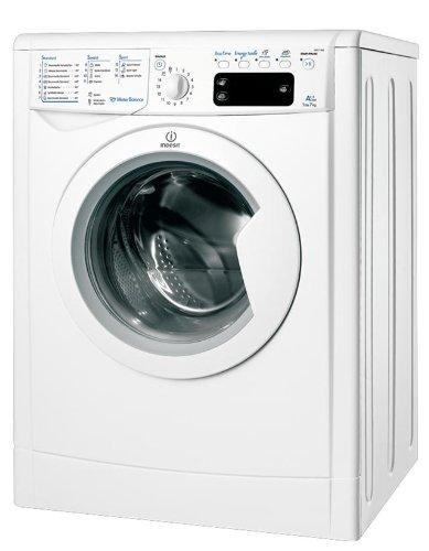 Indesit IWE 71482 ECO B (DE) Frontlader Waschmaschine / A++ AB / 187 kwh/Jahr /1400 UpM / 7 kg / 9039 L/Jahr / ENERGY SAVER Funktion / Expressprogramm 15 min / weiß