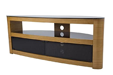 The Best  AVF Burghley FS1250 Oak TV Stand