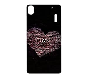 100 Degree Celsius Back Cover for Lenovo A7000 (Designer Printed Multicolor)