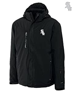Chicago White Sox Mens WeatherTec Sanders Jacket Black by Cutter & Buck