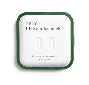 Help Remedies Help I Have A Headache, 16-Count (Pack of 3)