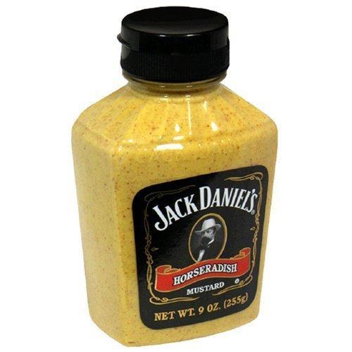 Jack Daniels Mustard Horseradish 9.0 OZ (Pack of 2)