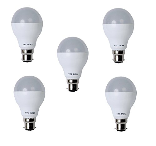 VPL-India-9W-White-LED-Bulb-(Pack-of-5)