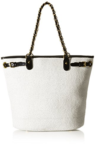 physician-endorsed-womens-harbor-isle-bag-with-matching-hat-white-black-one-size