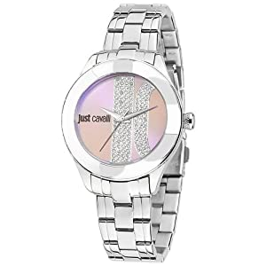 Just Cavalli R7253592501 Women's Silk Purple Dial Watch