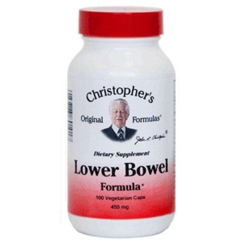 Dr Christophers Lower Bowel Formula 100 Vegetarian Capsules