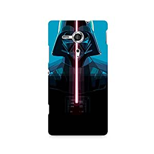 TAZindia Designer Printed Hard Back Mobile Case Cover For Sony Xperia SP