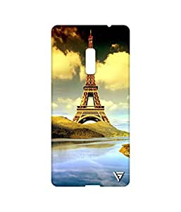Vogueshell Eiffel Tower Printed Symmetry PRO Series Hard Back Case for Oneplus Two