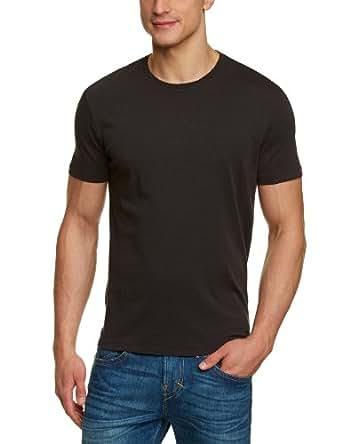 Levi's® - T-Shirt - Manches 1/2 - Homme - Noir (Black/Black 0007) - FR: Large (Taille fabricant: Large)