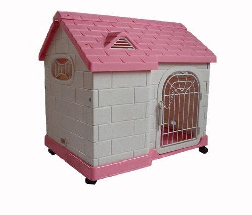 Artikelbild: Hundehaus Hundehütte Hundebett 'Villa' 64x46x59cm auch für Katzen!