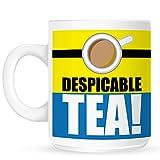 White Despicable Tea Mug