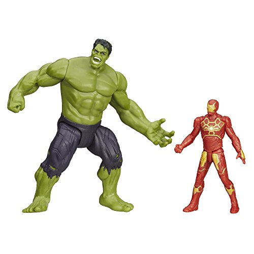 Avengers Marvel Age Of Ultron Savage Hulk Vs Ultron Hunter Iron Man