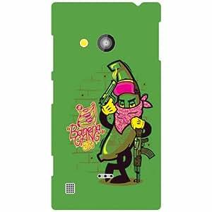 Nokia Lumia 720 Back Cover - Green Designer Cases