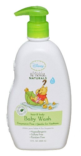 Disney Fragrance Free Baby Wash 15 Ounce Pack Of