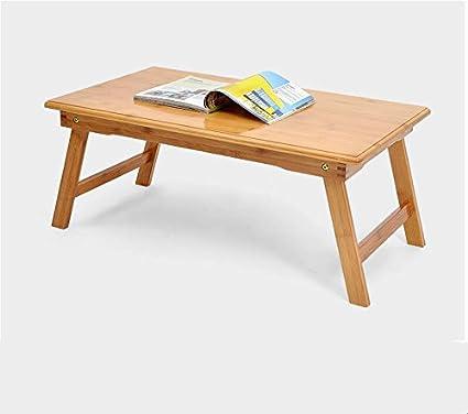 Dormitorio para el hogar Dormitorio Mesas plegables portátil Mesas Mesa con mesa perezosa Mesa de aprendizaje ( Tamaño : 80*50*33.5CM )
