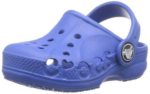 Crocs, Baya Sabot K, Zoccoli e sabot, Unisex - bambino, Colore Blu (Sea Blue), Taglia  EU 19-21, (US C4C5)