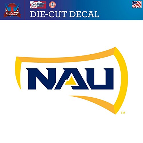 Northern Arizona University Lumberjacks Die-Cut Vinyl Decal (Approx 6x6) (University Of Arizona Auto Decal compare prices)