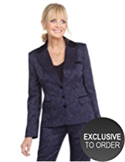 Twiggy for M&S Collection Floral Jacquard Jacket