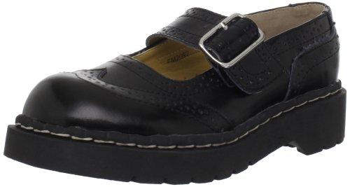 TUK  Anarchic Shoes,  Scarpe basse donna, Nero (Noir (Brogue Black)), 40