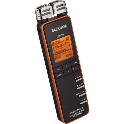 Tascam Dr-08 Record Recorder