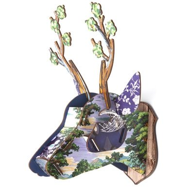 René Stag Head Object (Small)||RNWIT