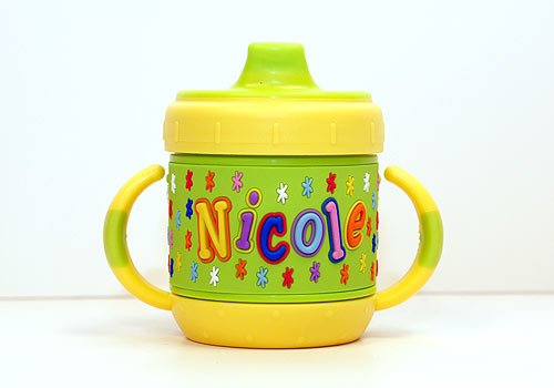 Personalized Sippy Cup: Nicole front-765949