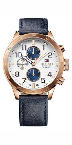 Tommy Hilfiger Herren-Armbanduhr Analog Quarz Leder 1791139