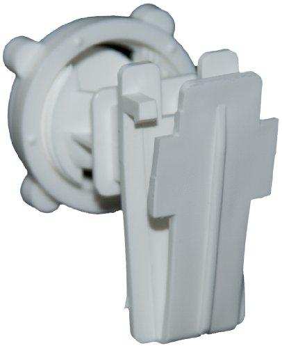 Zareba Irtw-Z Poly Tape Round Post Insulator, White, 25 Per Bag