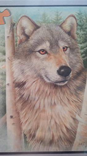 Bits And Pieces Puzzle 300 pc. Kathy Goff: Forest Wolf