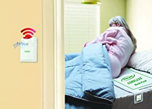 Fall Prevention Monitoring - Bed Alarm with Bed Sensor Pad, Chair Sensor Pad and AC Adapter - Wireless & CordLess makes this system easy-to-use for the caregiver!