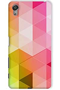 IndiaRangDe Hard Back Cover FOR Sony Xperia X