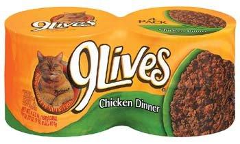 9 Lives Chicken Dinner  4 pk