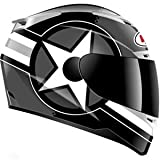 Bell Vortex Attack Helmet - 2X-Large/Black/Silver