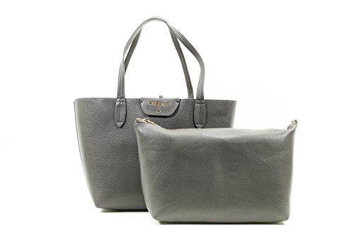 PATRIZIA PEPE BAG 2V5452AV63-H279 Dark Gray/ Lime