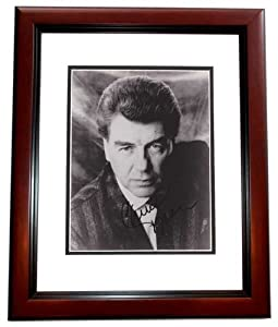 Chuck Daly Autographed Hand Signed Detroit Pistons 8x10 Photo MAHOGANY CUSTOM FRAME -... by Real Deal Memorabilia