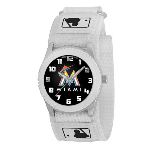 Game Time Youth Mlb-Row-Fla Rookie Florida Marlins Rookie White Series Watch front-637769