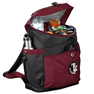 NCAA Backpack Cooler by Logo Chairs Inc