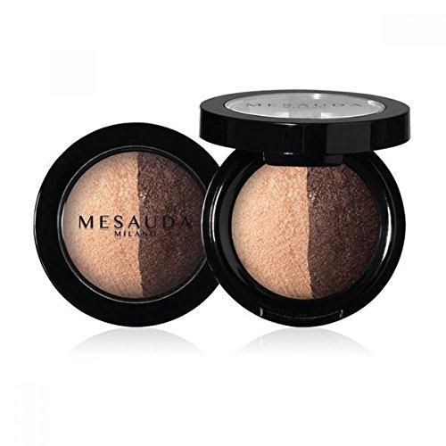 Mesauda Luxury Eyeshadow Duo Ombretto Cotto Duo Wet&Dry Colore 502 Jasmin