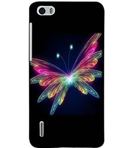HUAWEI HONOR 6 BUTTERFLY Back Cover by PRINTSWAG