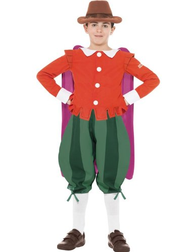 Horrible Histories Kids Book Guy Fawkes Boys Fancy Dress Costume Child Outfit